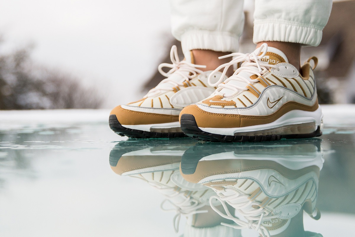 "big sale 650d8 2a209 Nike WMNS Air Max 98 ""Wheat"""