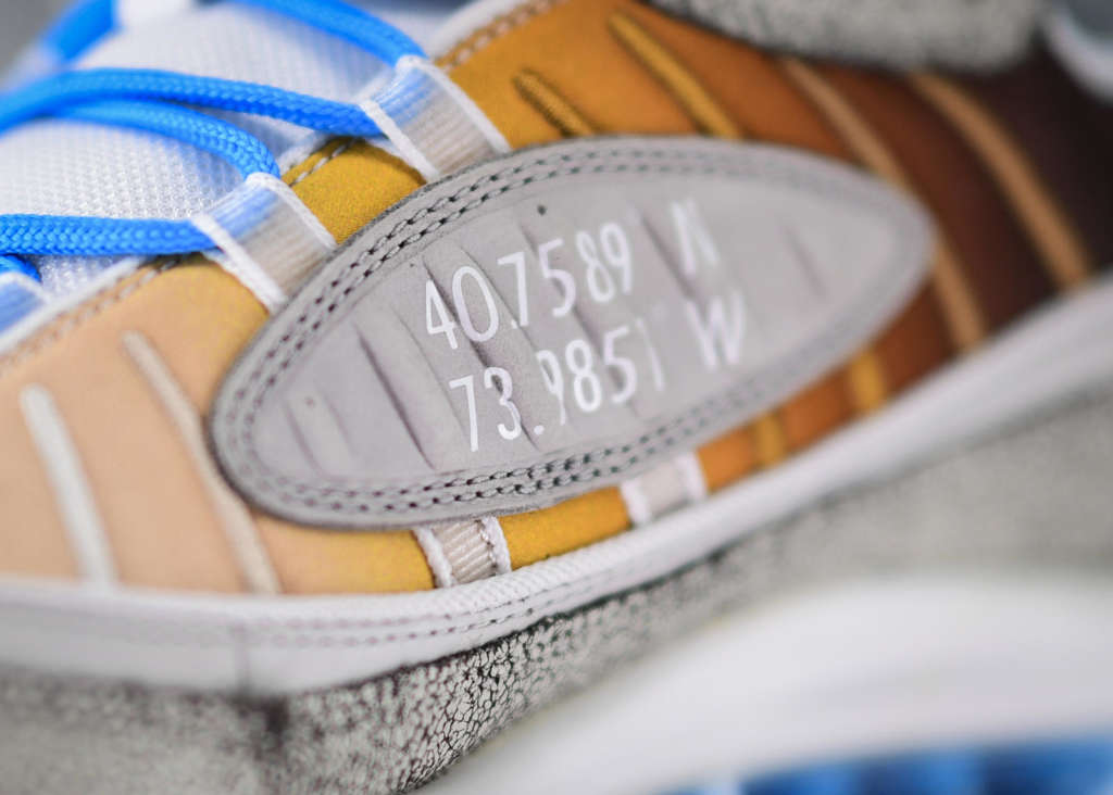 Nike Air Max 98 La Mezcla, by Gabrielle Serrano