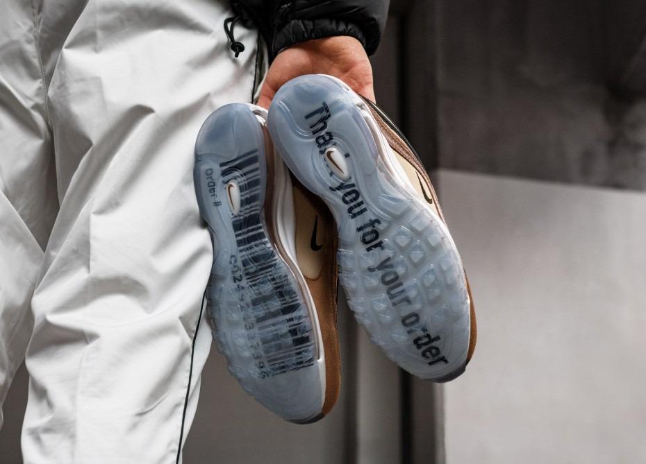 Nike Air Max 97 Shipping Box