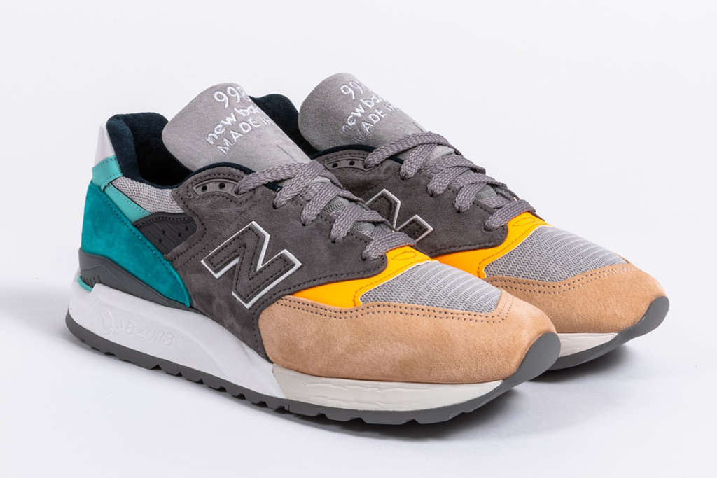 finest selection 4aa48 095cc New Balance 998 Made in the USA Drops in Grey, Teal, Sand ...