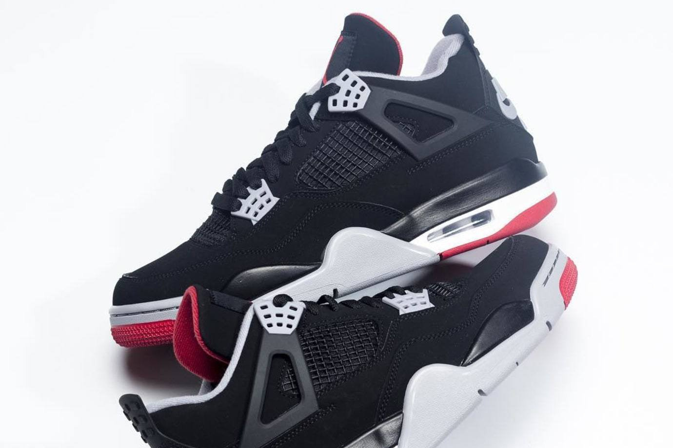 separation shoes 8c73b 786ae Jordan Brand is celebrating the 30th anniversary of the Air Jordan IV by  reissuing the 1989 silhouette in classic black and red form.