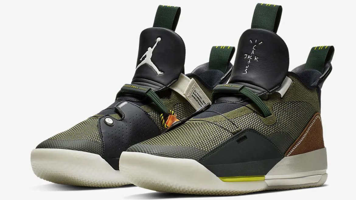 official photos c9b8f f6b24 Jordan Brand s current s signature silhouette, the Air Jordan 33 has been  styled by Travis Scott for an upcoming release. Scott s take on the  silhouette ...