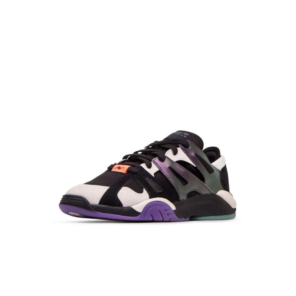 adidas Dimension Low in Black/ Purple