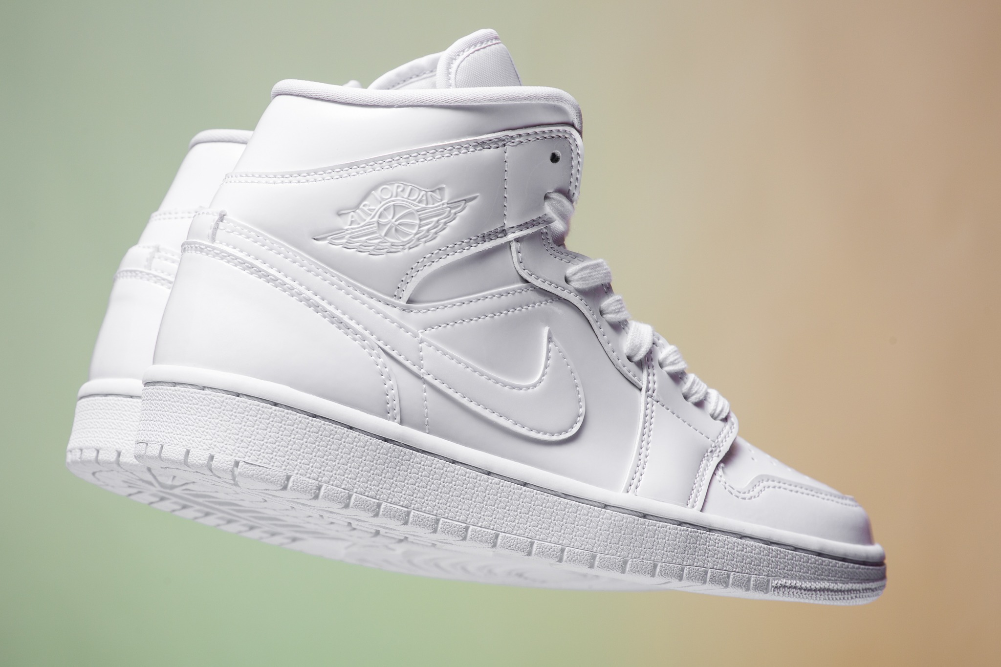 first rate 67217 ce31c WMNS Air Jordan 1 Mid in Triple White for Spring 2019 - EUKICKS