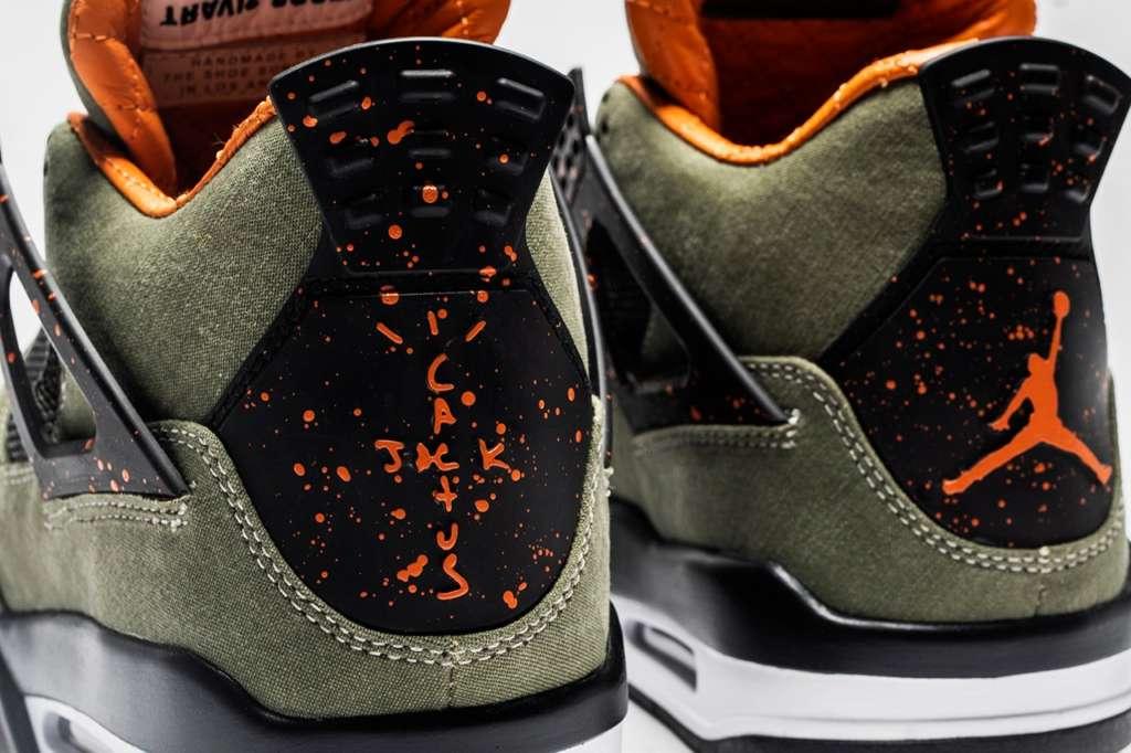 the latest 733a1 e5e96 Air Jordan 1 & 4 Customs for Travis Scott by The Shoe ...