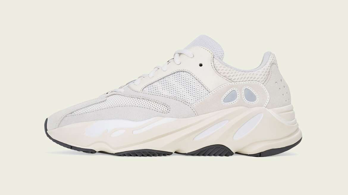08ab8d4f5 Kanye West has attached the the Analog moniker to his latest release of the  adidas YEEZY BOOST 700. The look is built on a black outsole with the suede  and ...