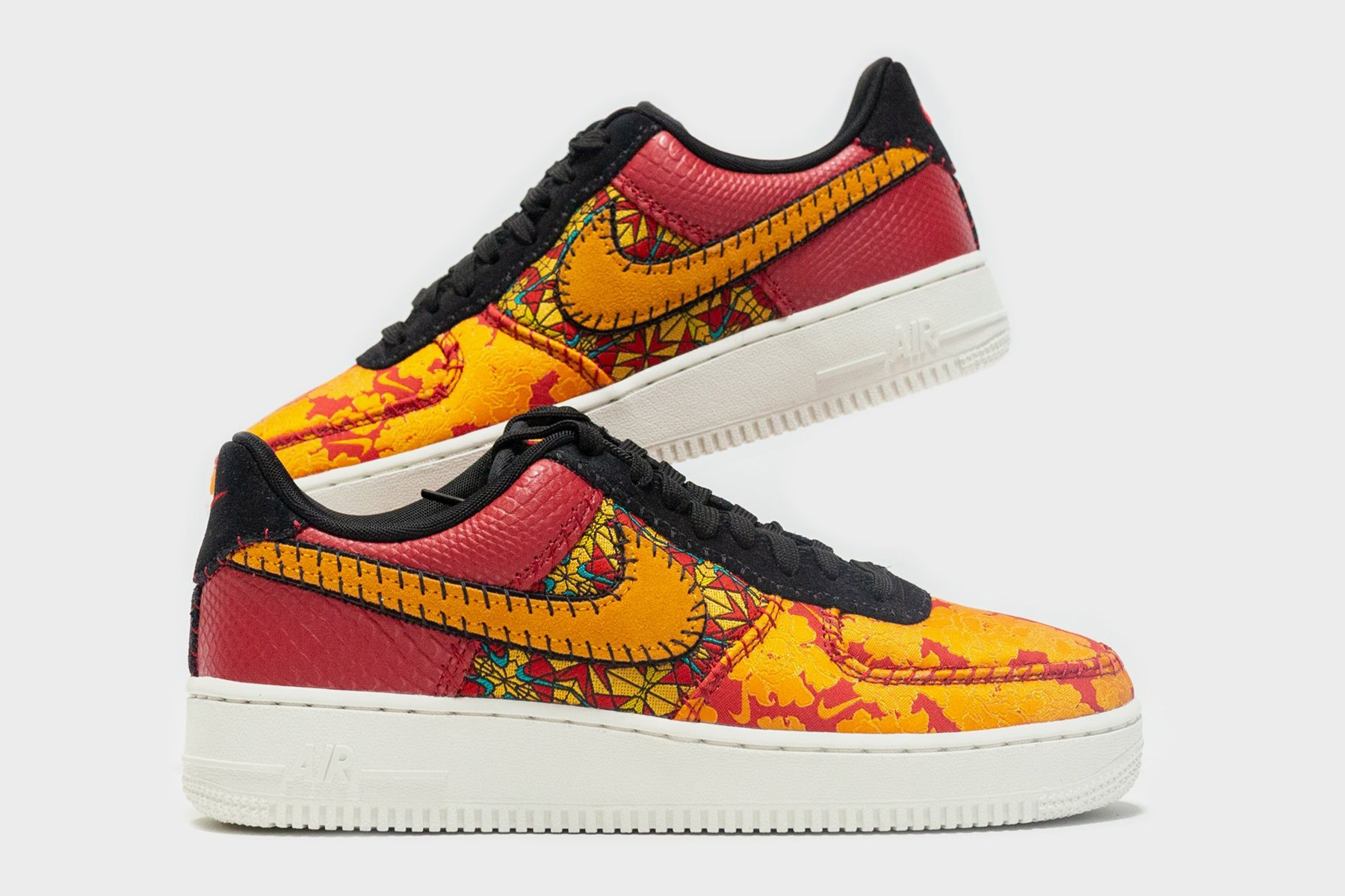 low priced 47c23 d8950 Nike Sportswear is working with multiple textures and patterns to style its  latest Air Force 1 release. The drop features an antique style floral  pattern on ...