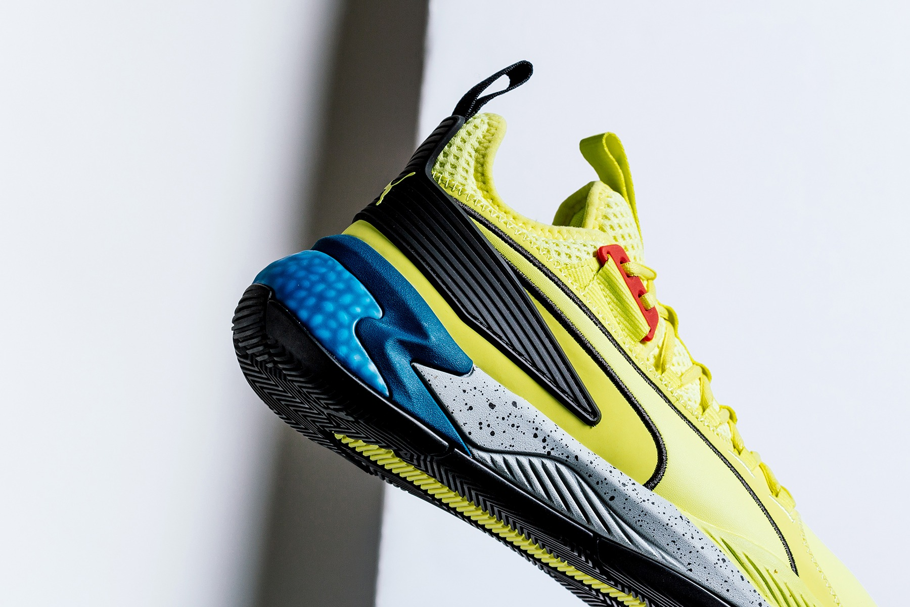 2b4f9cbbd Made for hoops, Puma has just dropped the Uproar Hybrid Court Thunder in a  colorway inspired by the Thunder Spectra.