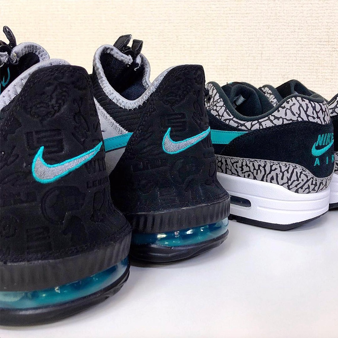 "top fashion 1abcc b380d Teaser: atmos x Nike LeBron 16 Low ""Clear Jade"" - EUKICKS"