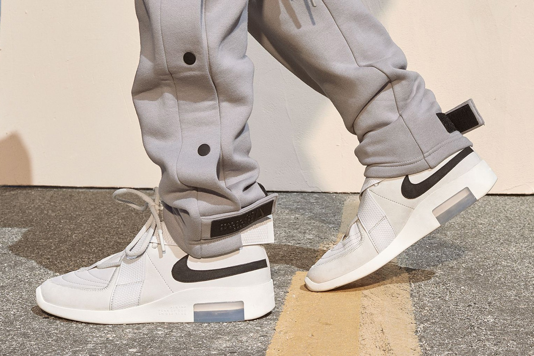 buy popular e847c d8be9 Co-created with street-fashion mogul Jerry Lorenzo and his Fear of God  brand, the Nike Air x Fear of God 1 merges the swagger of luxury streetwear  with a ...