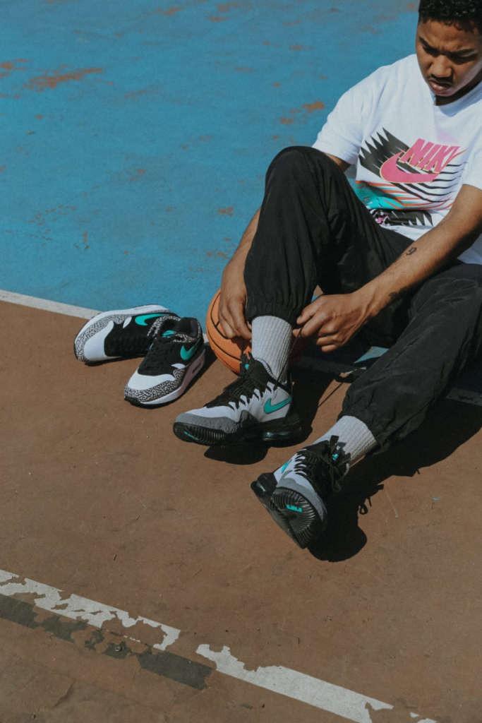 "d1f6100c3 atmos x Nike LeBron 16 Low ""Clear Jade"" - EUKICKS"