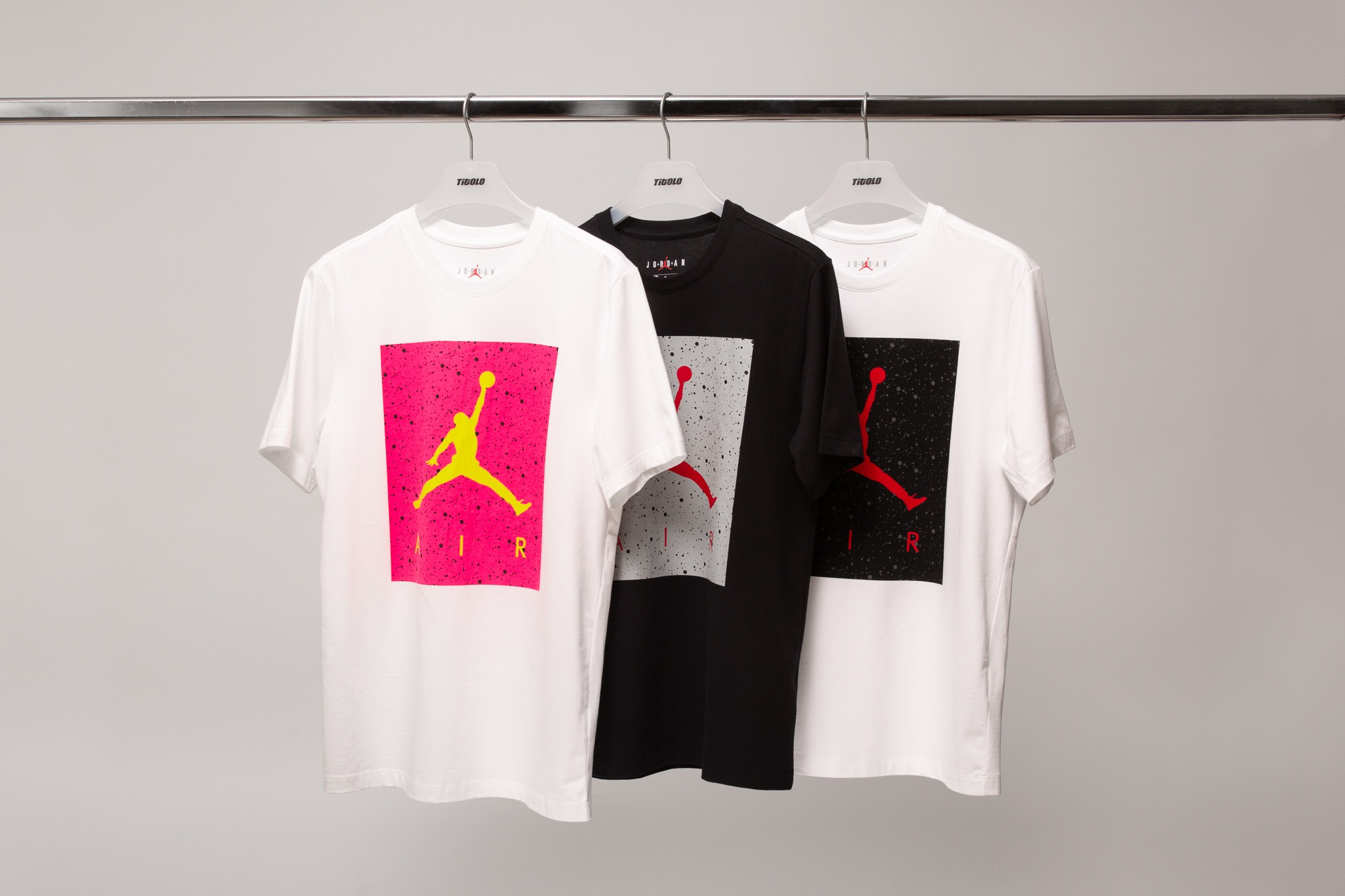 77dde353b8aadd With poolside weather here, Jordan Brand has released a collection of the  Poolside SS CTN Crew T-Shirt. Cotton blend built, the t-shirts feature the  Jumpman ...