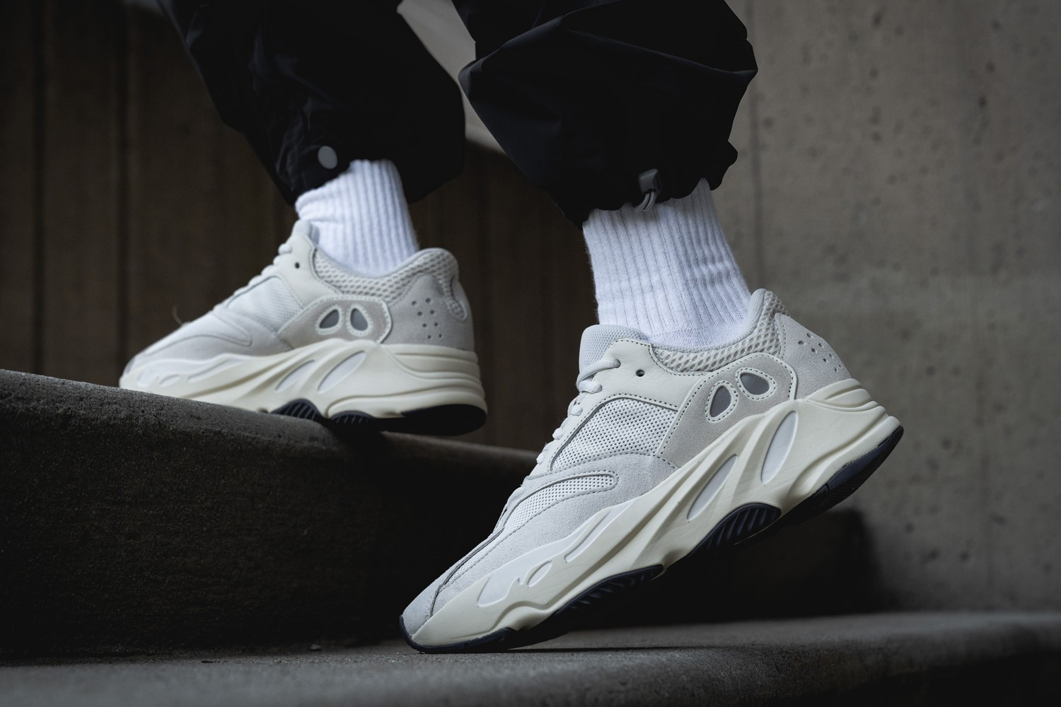 finest selection 0b8b4 9c387 This week, adidas Originals is releasing the Analog colorway of the YEEZY  BOOST 700. The Kanye West designed silhouette is dressed in a neutral  balance of ...