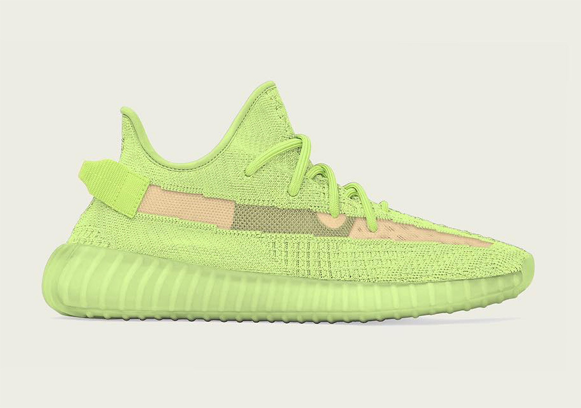 """adidas YEEZY BOOST 350 V2 """"Glow in the"""