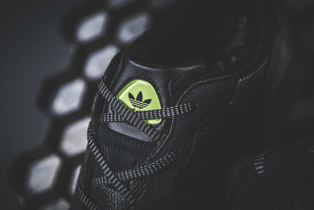 the latest 91126 a99e6 This Night Vision version features a high-visibility colour-shifting upper,  and Night Vision Morse code graphics printed on the sockliner.