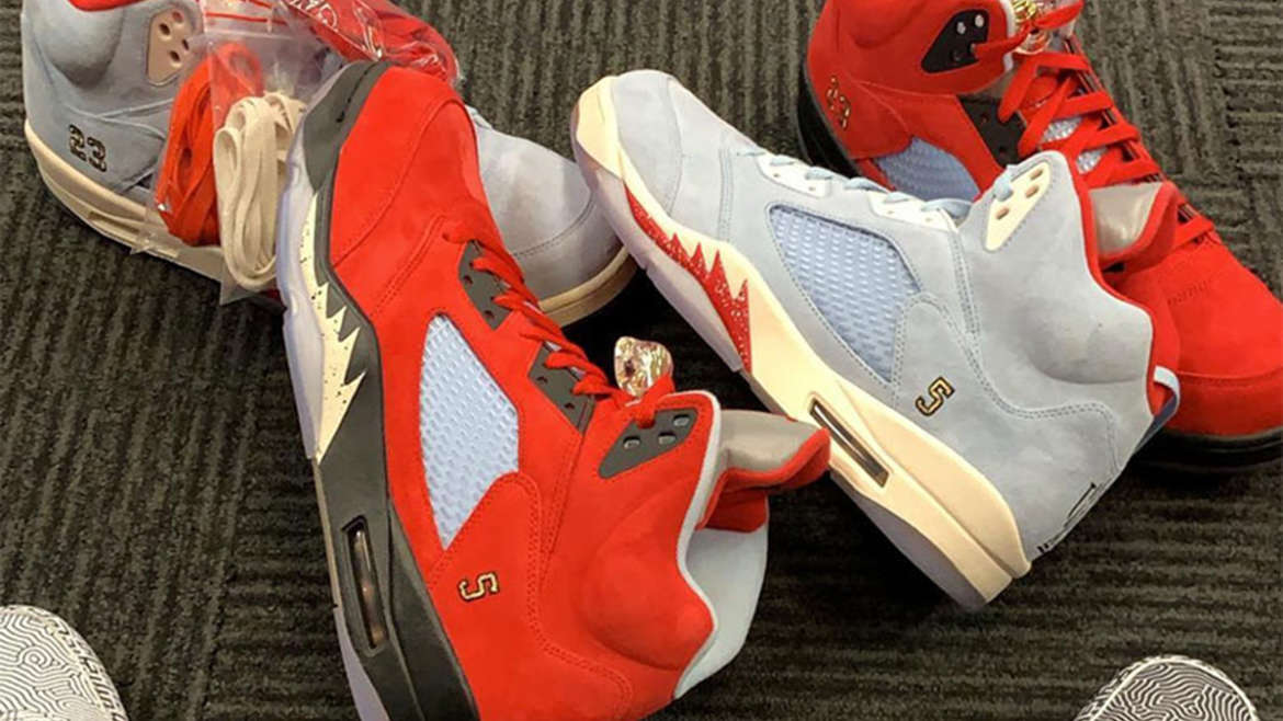 wholesale dealer 33095 f3dac Marcus Jordan s Trophy Room sneaker shop is teaming up with Jordan Brand to  release an edition of the Air Jordan 5. Of the two, one is exclusive to  friends ...
