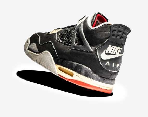separation shoes 2bdd2 c1ed0 Air Jordan 4 BRED   89 to 2012