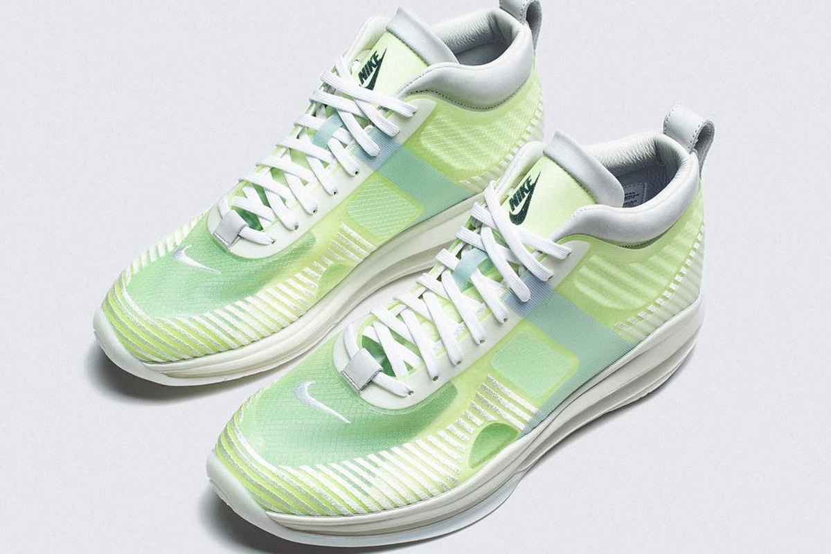 8ead73c6a64 The John Elliott designed Nike LeBron Icon has been fitted in a volt  colorway for an upcoming release. The sneaker is part of the John Elliott  Pre FW19 ...