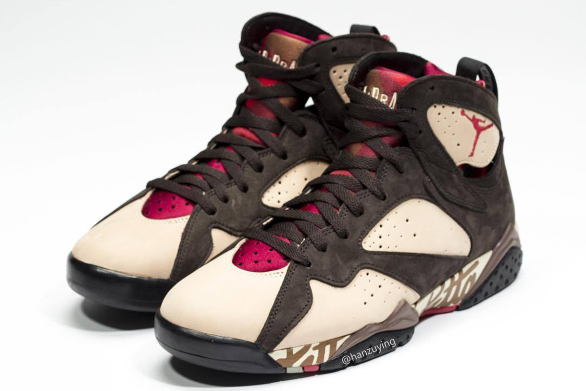 best sneakers f511b a1223 Just recently, word broke that Amsterdam based Patta has aligned themselves  with Jordan Brand a two-piece Air Jordan 7 Pack.