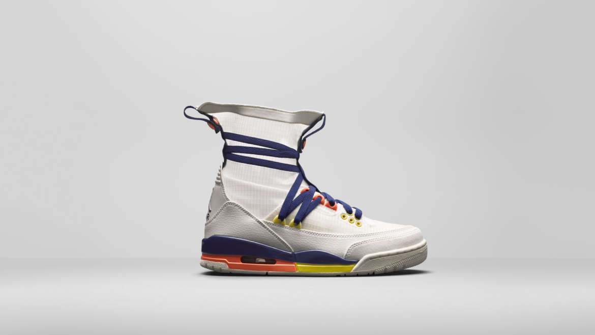 wholesale dealer 9c96d 44935 An emphasis on texture and material creates a connective tie between all  the shoes, which span premium make-ups of the Air Jordan I ...
