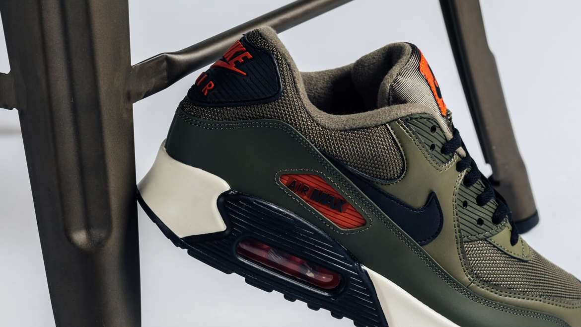 buy popular f6979 41fdc If you are looking to add a military flavor to your footwear rotation, check  out the latest Nike Air Max 90 release. Part of the sneaker s Essential  range, ...