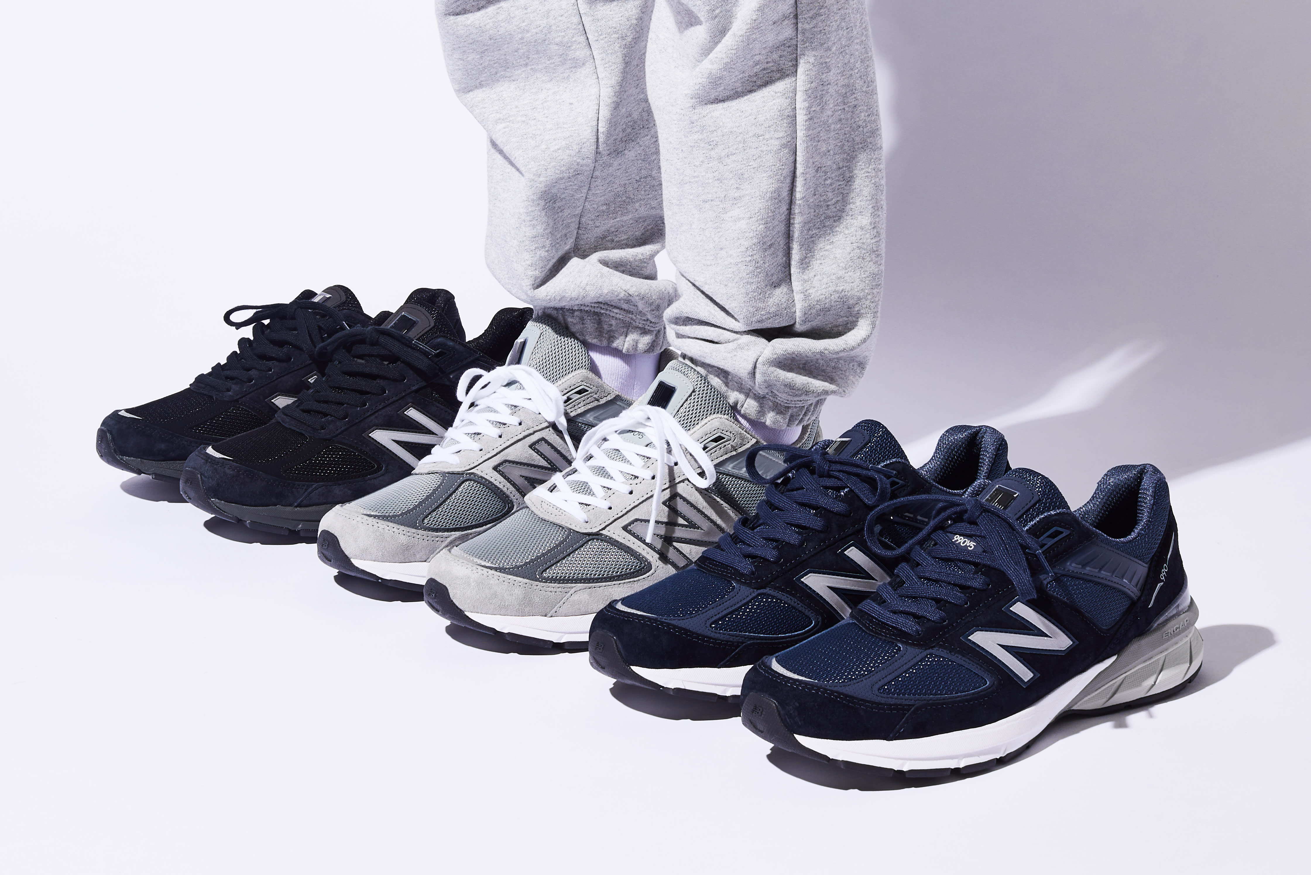 wide selection of designs wholesale sales amazon New Balance 990v5 Launching in Three Colorways - EUKICKS