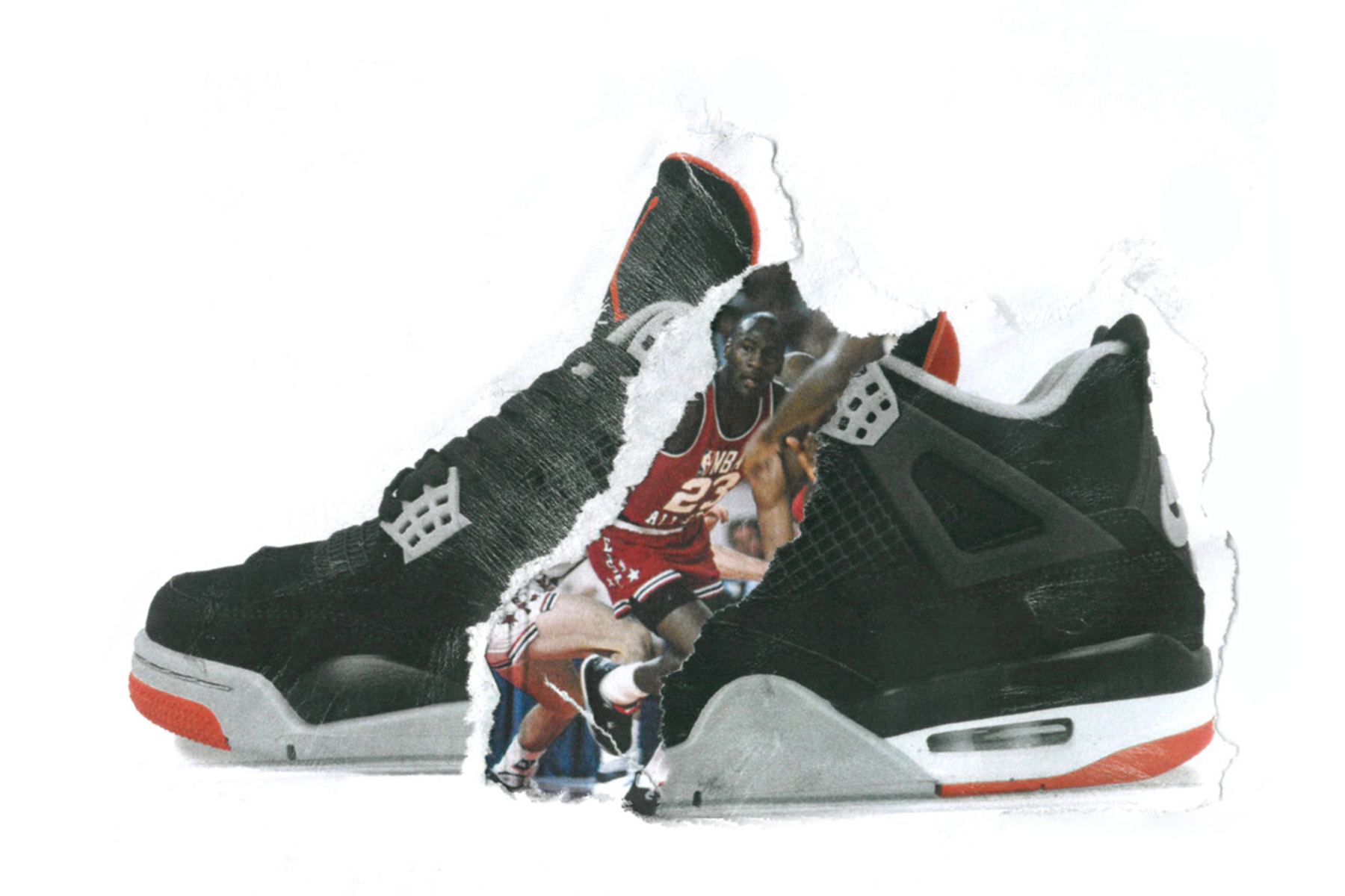 bac5bcd4c74 To celebrate the 30th anniversary of the Air Jordan IV, the icon returns in  an OG colourway first released in 1989. The timeless silhouette is crafted  to ...