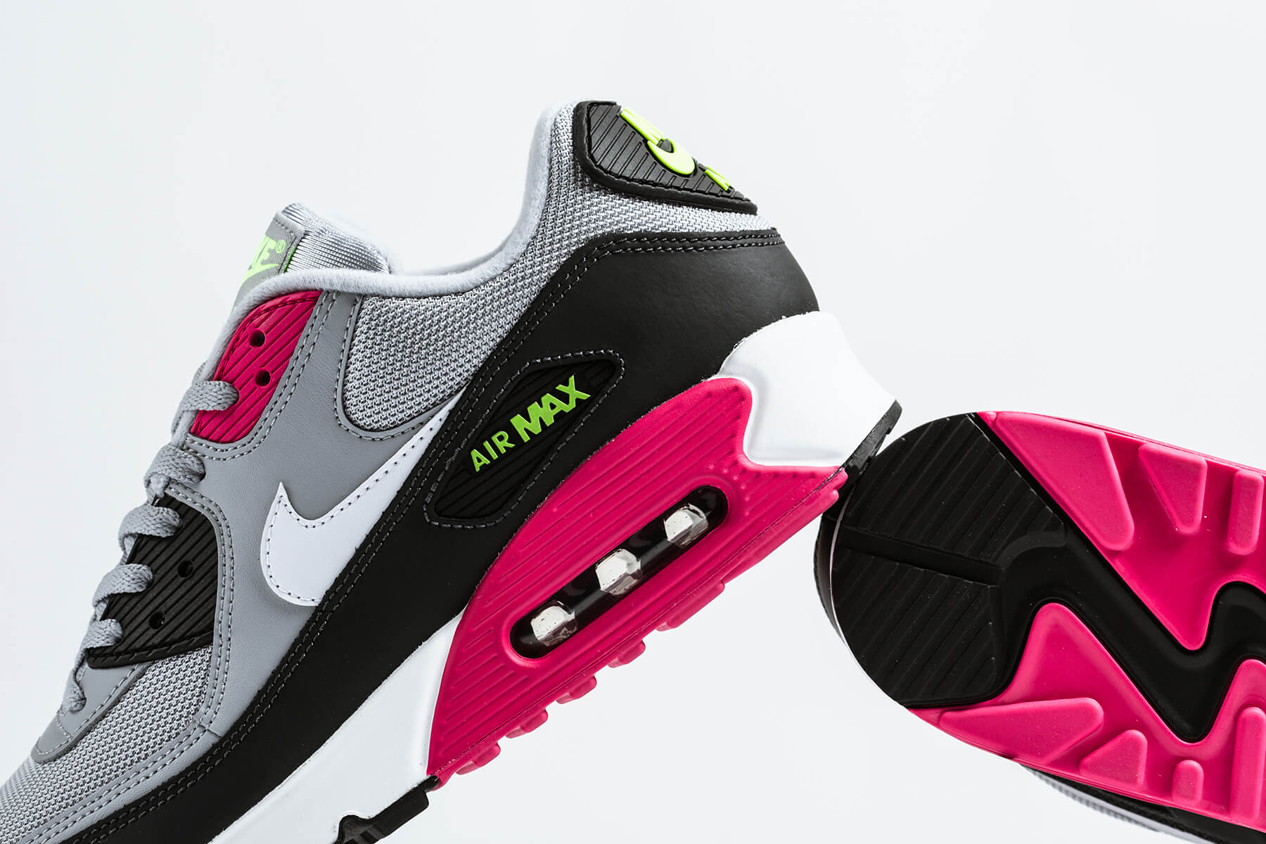 Nike Air Max 90 Essential: Accented with Rush Pink & Volt