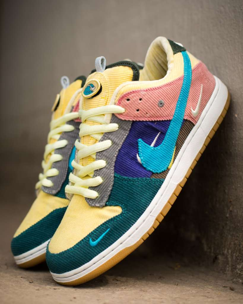 d506e88196 ... Sean Wotherspoon x Nike hats to recreate the Air Max 97/1 SW colorful  corduroy look. Photos: pkzuniga. Designer: Dank Customs · Custom Sneakers