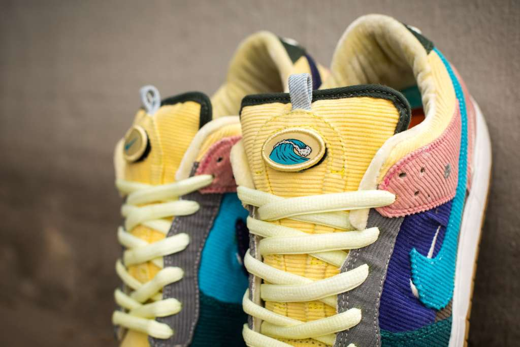73d727bd28 ... Sean Wotherspoon x Nike hats to recreate the Air Max 97/1 SW colorful  corduroy look. Photos: pkzuniga. Designer: Dank Customs