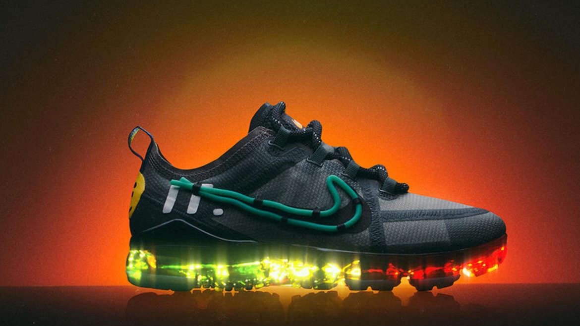 best service a9df0 6fbf6 Debuted on Air Max Day, the Nike x Cactus Plant Flea Market VaporMax 2019  reimagines the future-forward silhouette with a deft balance of its  inherent ...