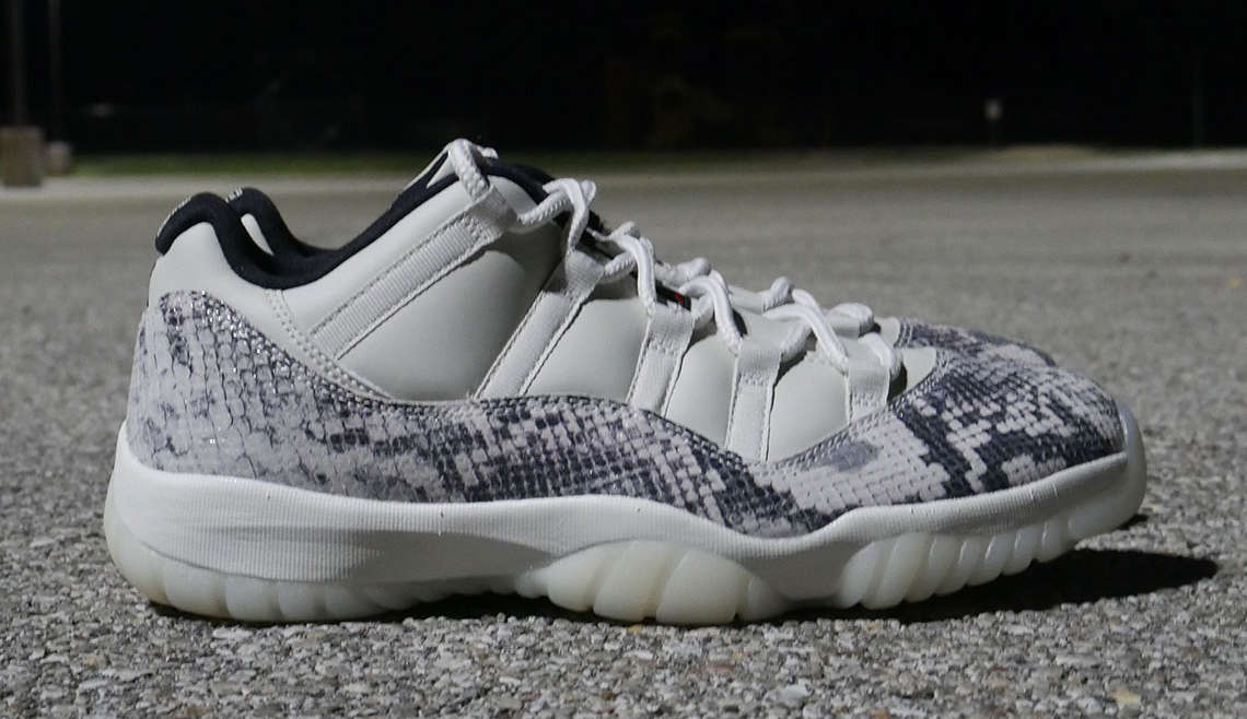 "Air Jordan 11 Low LE ""Snakeskin"""