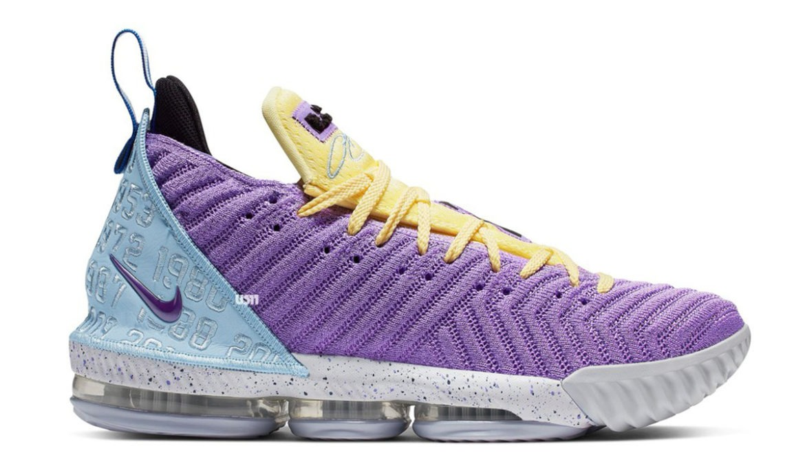 Nike LeBron 16 Lakers