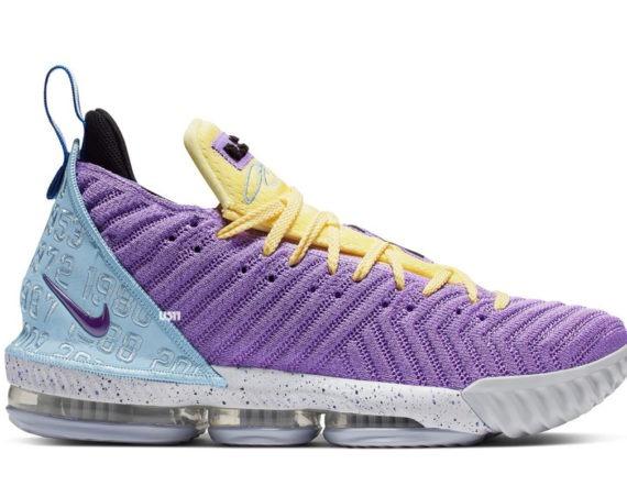 Nike LeBron 16 Lakers