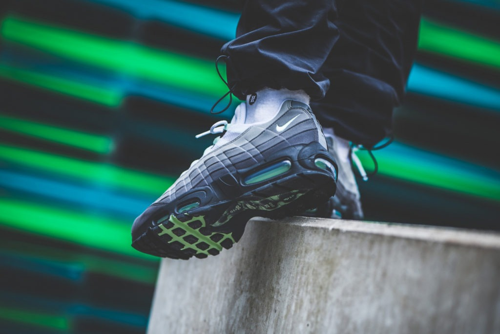 """online retailer c00ac f8f90 Check out the Air Max 95 """"Green Mint"""" that released in 2009."""
