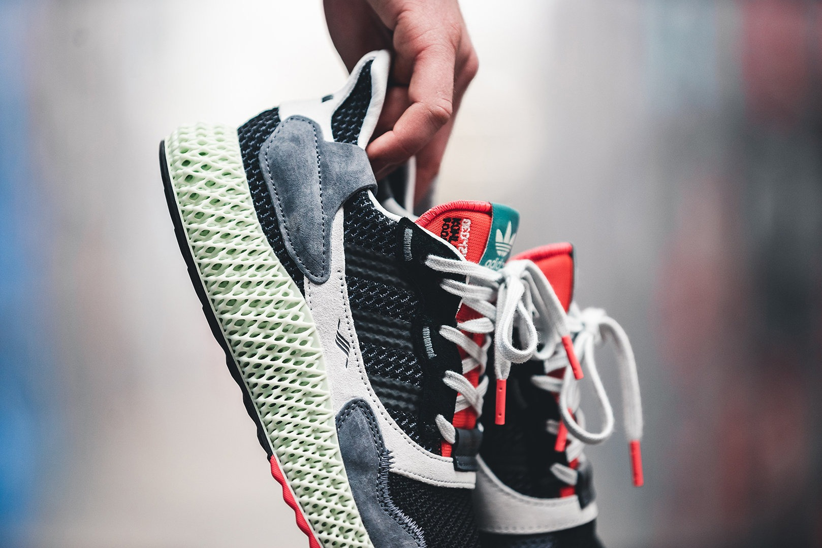 info for e5336 49233 In February, adidas Consortium debuted the ZX 4000 4D. Then in April, adidas  pulled out the Carbon colorway of the sneaker.