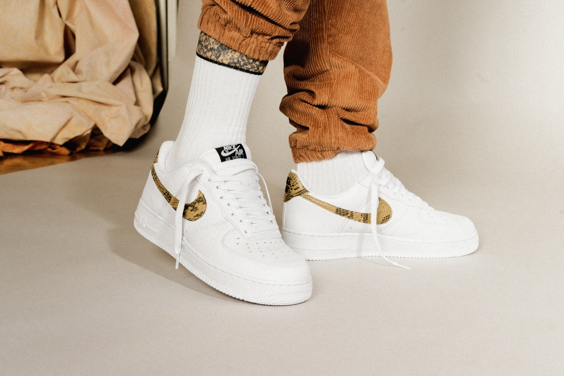sports shoes 502f9 1570d The story of the Ivory Snake edition of the Air Force 1 goes back to 1996.  That s when the sneaker dropped an Asia exclusive. Given its age and  limited ...