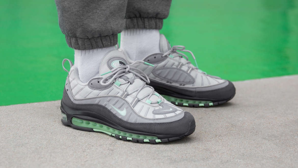 "On-Foot: Nike Air Max 98 ""Fresh Mint Green"""