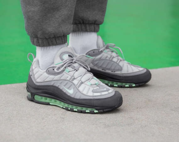 "On-Foot: Nike Air Max 98 ""Fresh Mint Green"""