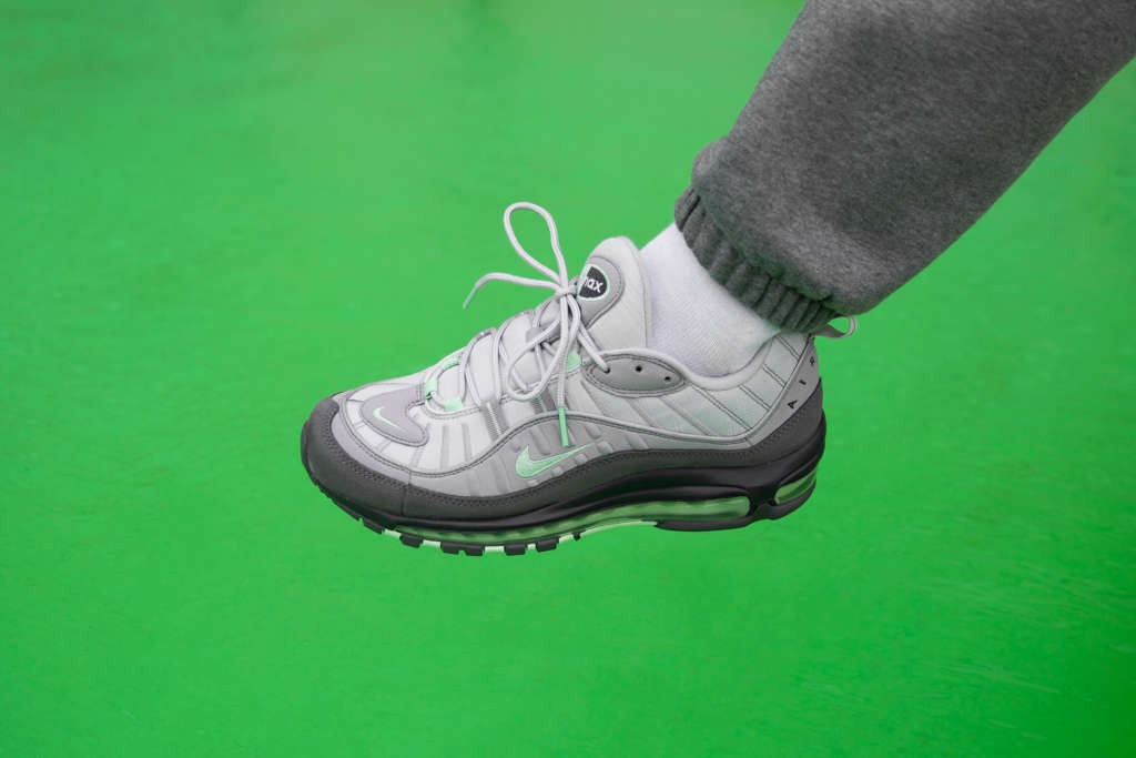 On Foot Nike Air Max 98 Fresh Mint Green Eukicks