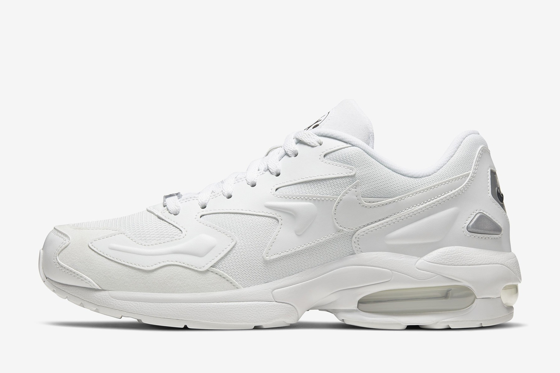 d0568caeb529c Every Air Max during the '90s introduced an innovation that hadn't been  seen before on a shoe. When it was time for the Air Max2 Light, the dual  pressure ...