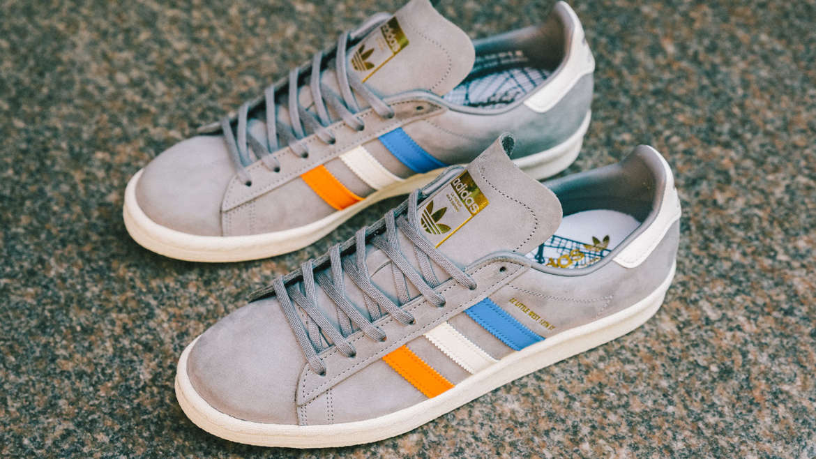 63653c6d5db Stockholm based but internationally located, Sneakersnstuff has created an  edition of the adidas Campus 80s, dedicated to NYC. The drop is formed in  grey ...