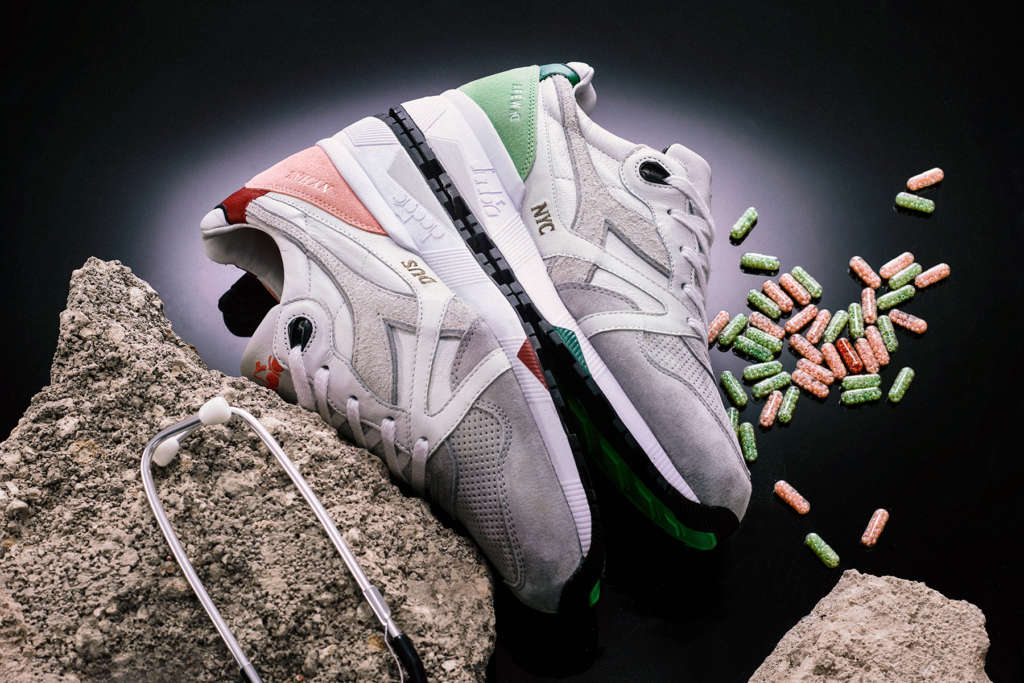 "AFEW X Diadora N9000 ""Highly Addictive NYC"""