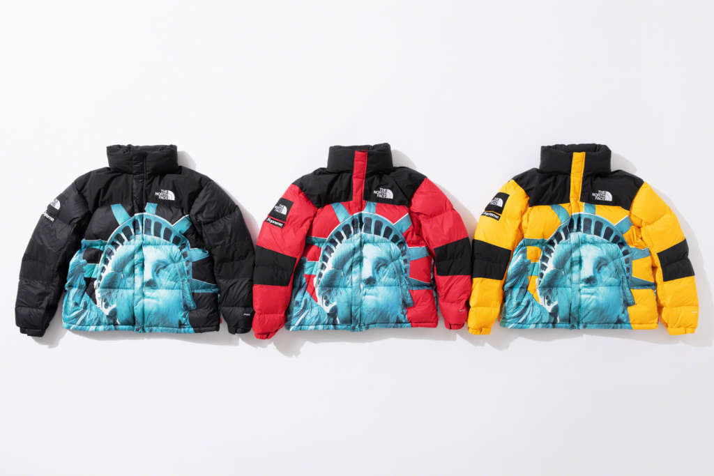 Supreme X The North Face Statue Of Liberty Collection