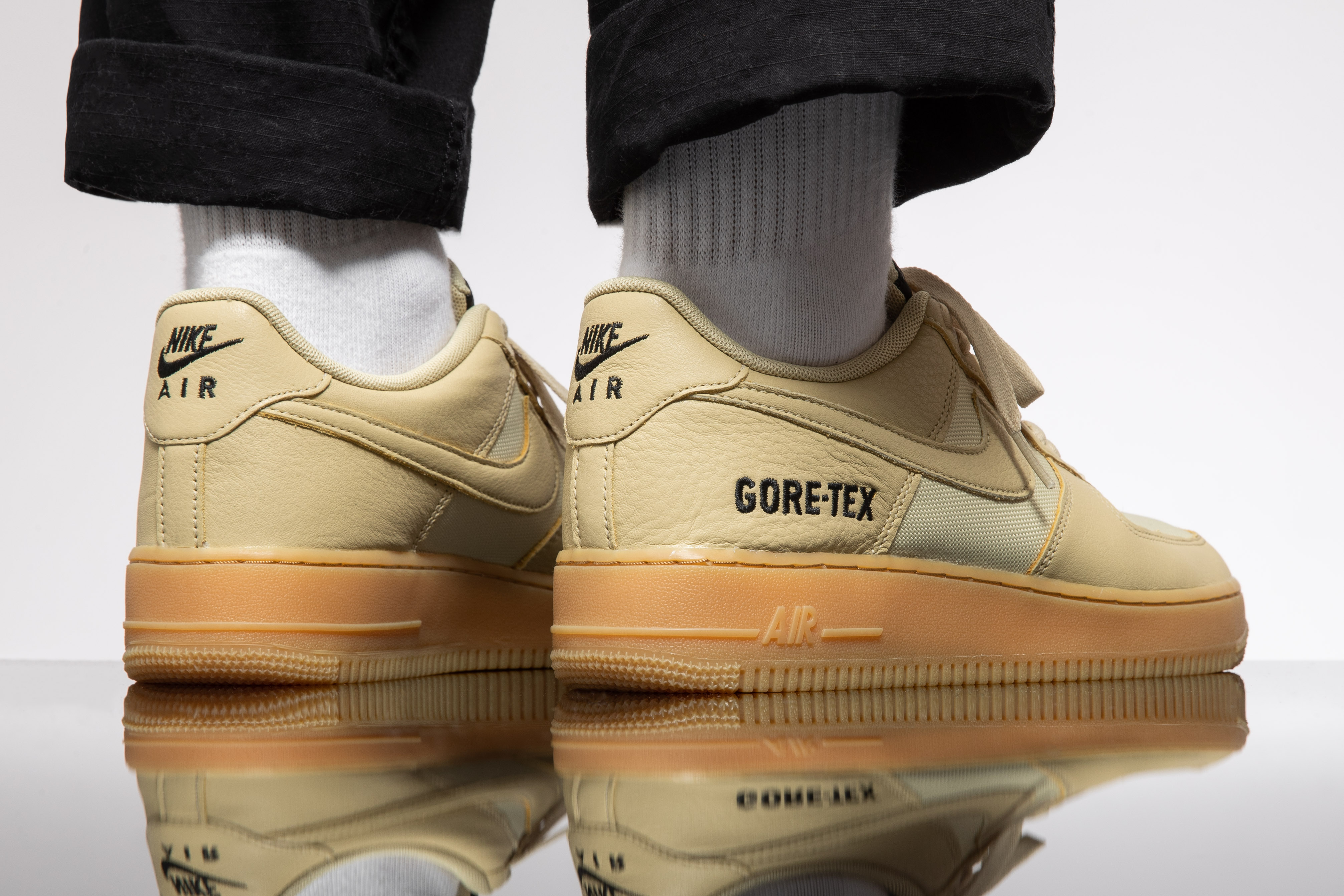 Nike Air Force 1 Low GTX: Two Gum Soled Colorways EUKICKS
